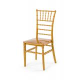 Svatební židle CHIAVARI TIFFANY zlato