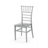 Svatební židle CHIAVARI TIFFANY stříbro