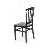 Svatební židle CHIAVARI NAPOLEON černá