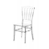Svatební židle CHIAVARI NAPOLEON průhledný