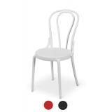Židle Bistro MONET BÍLÝ