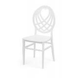 Svatební židle CHIAVARI KING bílá