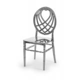 Svatební židle CHIAVARI KING STŘÍBRNÝ