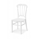 Svatební židle CHIAVARI QUEEN bílá