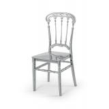 Svatební židle CHIAVARI QUEEN STŘÍBRNÝ