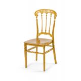 Svatební židle CHIAVARI QUEEN ZLATÝ