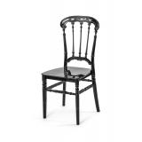 Svatební židle CHIAVARI QUEEN ČERNÁ