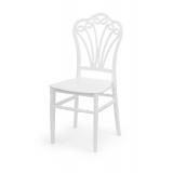 Svatební židle CHIAVARI LORD bílá
