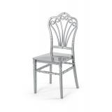 Svatební židle CHIAVARI LORD STŘÍBRNÝ