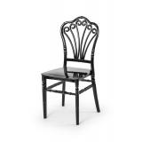 Svatební židle CHIAVARI LORD ČERNÁ