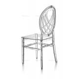 Svatební židle CHIAVARI KING PRŮHLEDNÝ