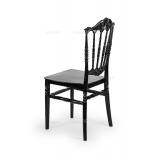 Svatební židle CHIAVARI PRINCESS ČERNÁ