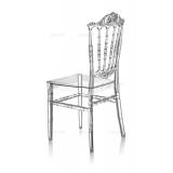 Svatební židle CHIAVARI PRINCESS PRŮHLEDNÝ
