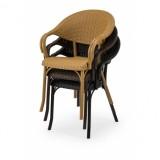 Židle pro pivní zahrádky MARCO antracit nergra