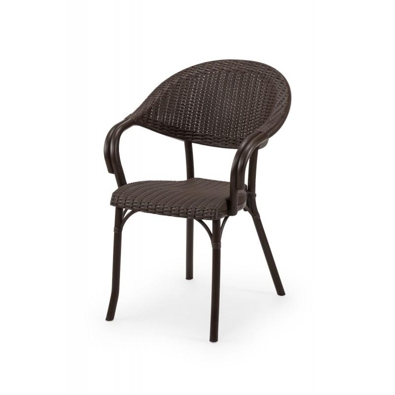 Židle pro pivní zahrádky MARCO hnědá