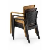 Židle pro pivní zahrádky VITO krémová