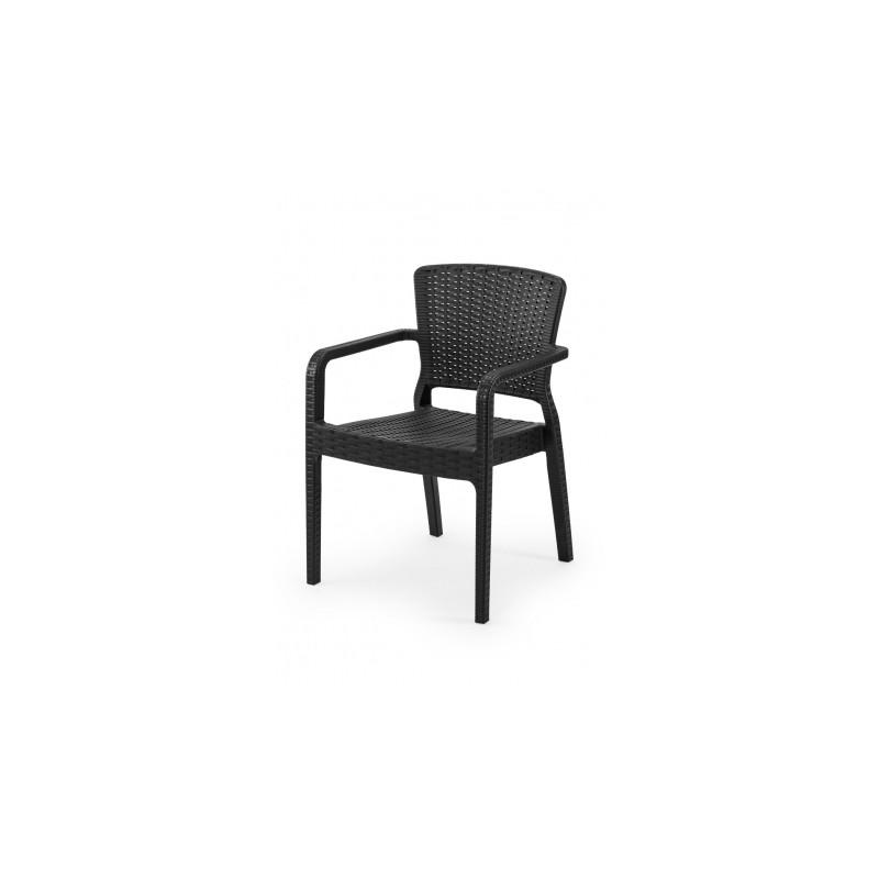 Židle pro pivní zahrádky VITO černé