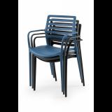 Židle pro pivní zahrádky LUCA grafitová