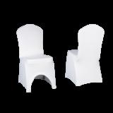 Potahy na židle SLIMTEX 240 bílý
