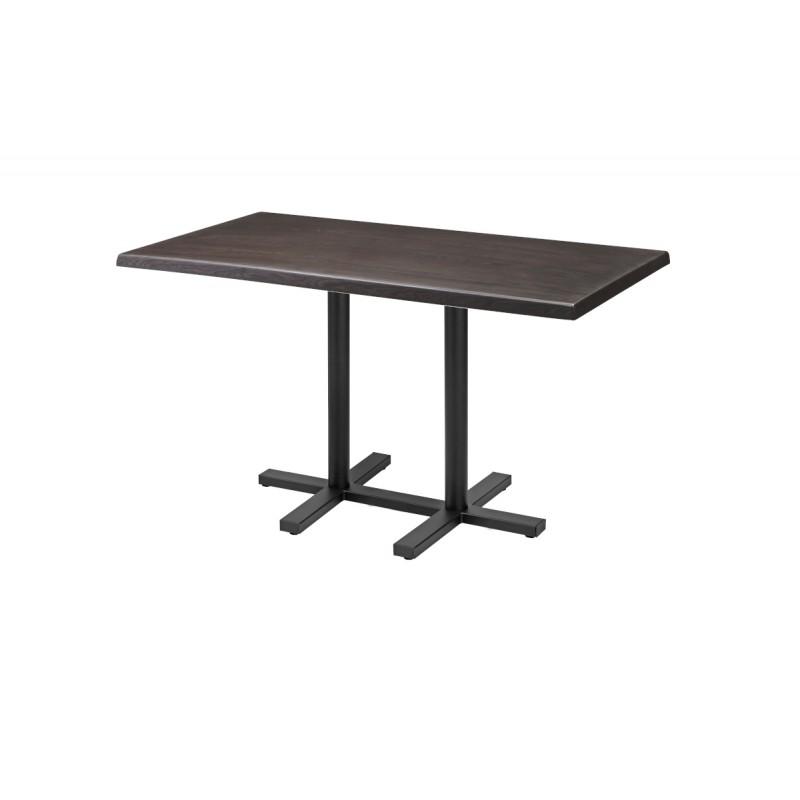 Stůl pro pivní zahrádky CROSS DUO 120x70cm 34mm