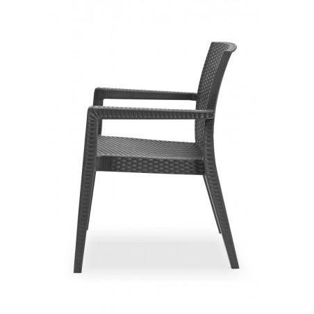 Židle pro pivní zahrádky MARIO antracit