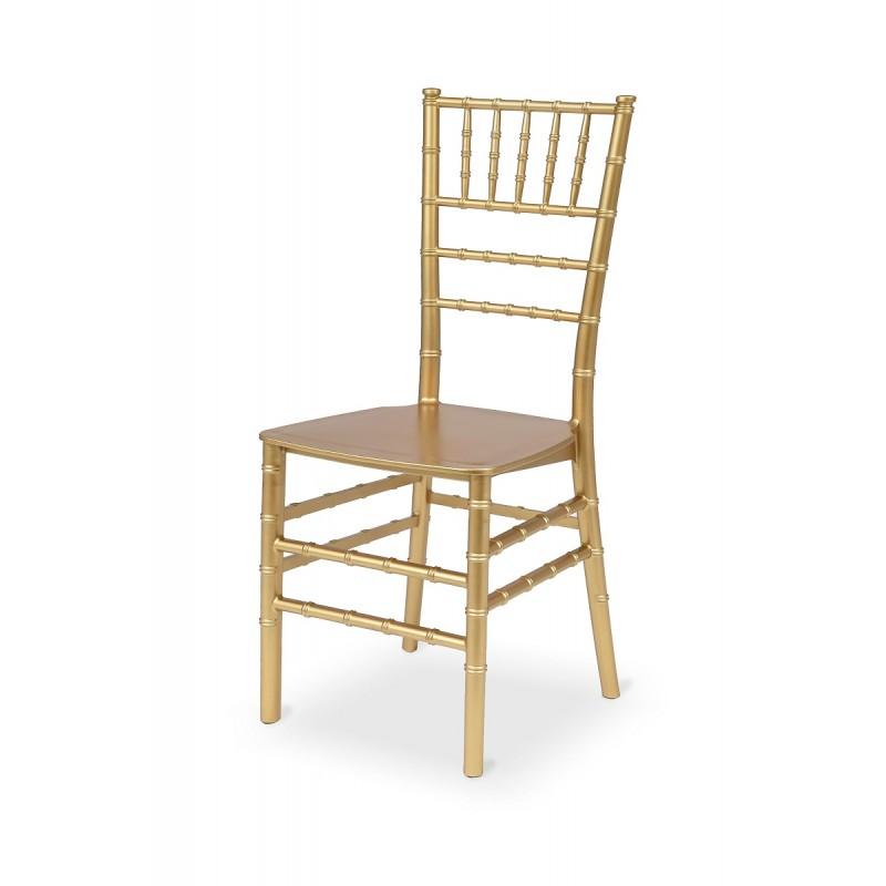Svatební židle CHIAVARI TIFFANY zlato šampaňské