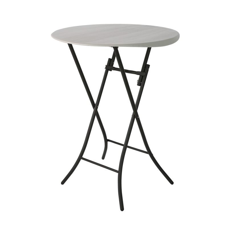 Cateringový skládací koktejlový stůl 80362 fi 84 cm