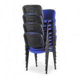Konferenční židle ISO 24HBL-T modrý