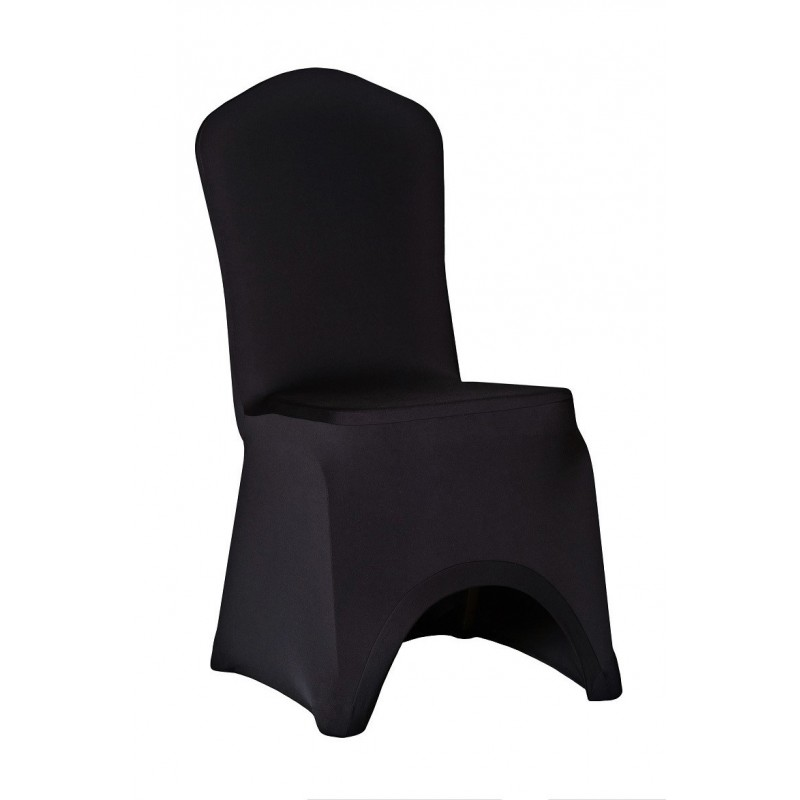 Potahy na židle SLIMTEX LUX Černá