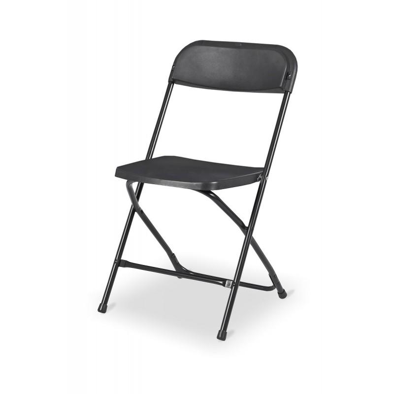 Cateringové židle POLY 7 černá