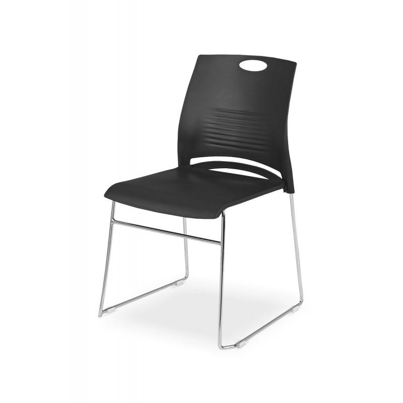 Konferenční židle WEST černá