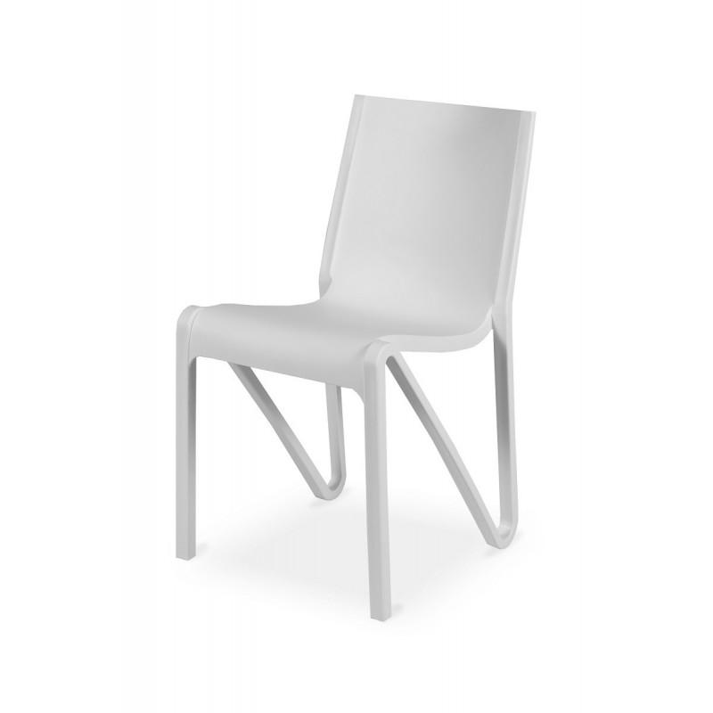 Židle Bistro BOOM bílá