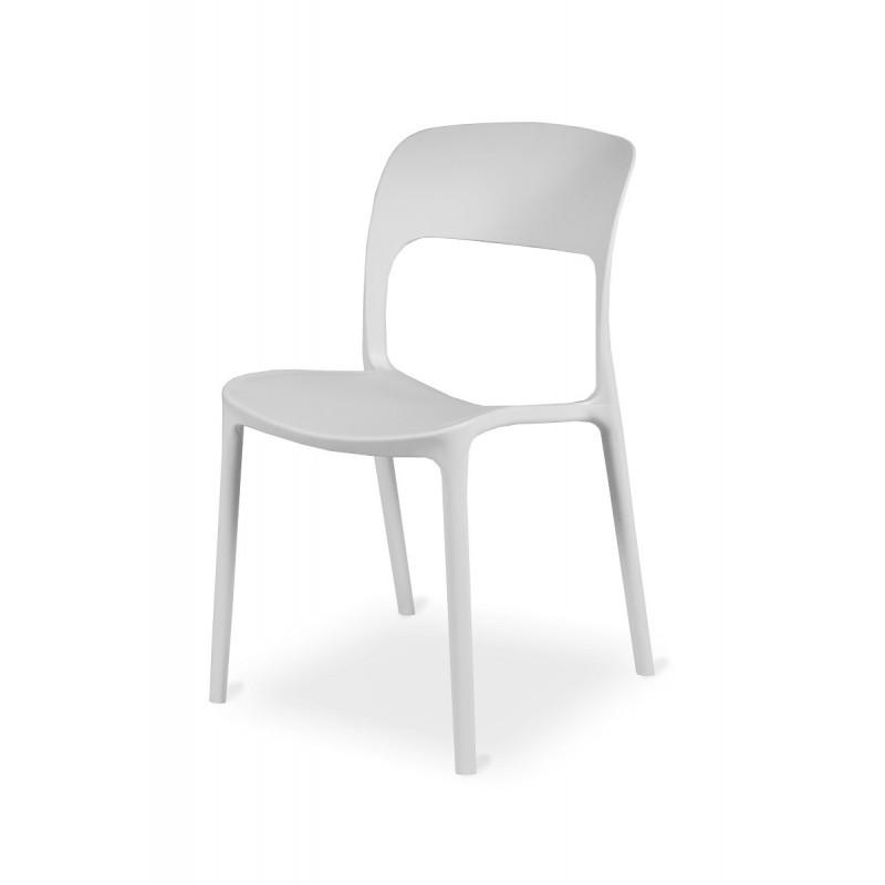 Židle Bistro HAVANA bílá